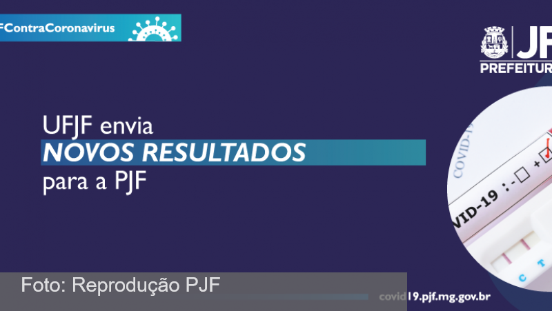 PJF já recebeu quase quatro mil resultados de exames covid-19 da UFJF