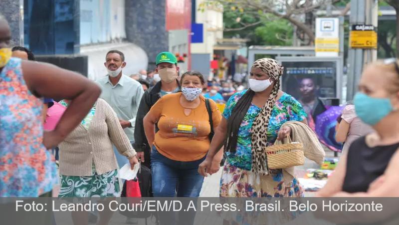 Minas Gerais chega a 333.998 casos e 8.405 mortes confirmadas por COVID-19