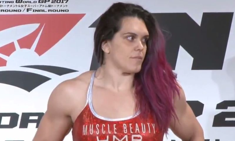 Gabi Garcia fica 12,7kg acima do peso e Rizin cancela luta contra mulher de 53 anos