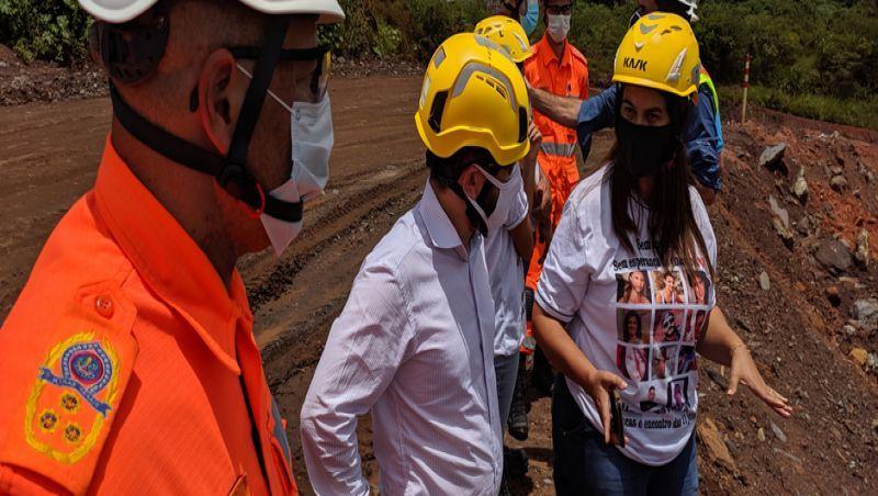 Governo de Minas faz nova visita a local do rompimento de barragem em Brumadinho e reafirma compromisso com a busca por desaparecidos