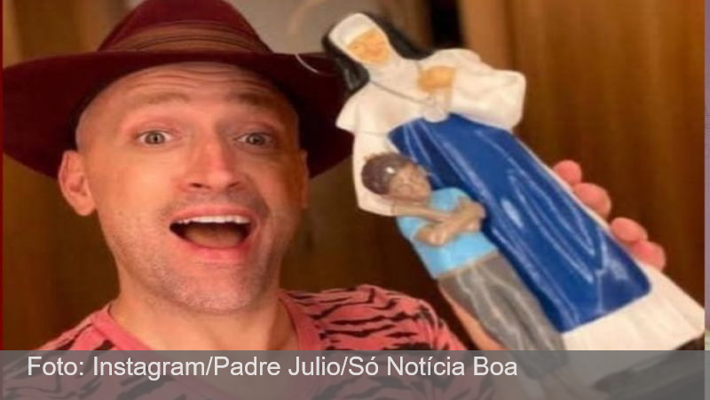 Paulo Gustavo doou R$ 1,5 milhão para hospital, revela padre Julio