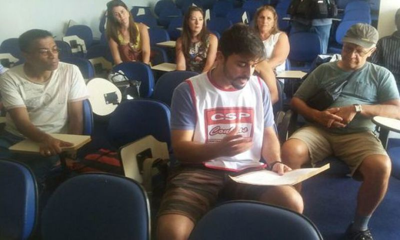 Sindicalistas encaminham reivindicações à superintendência de ensino de JF