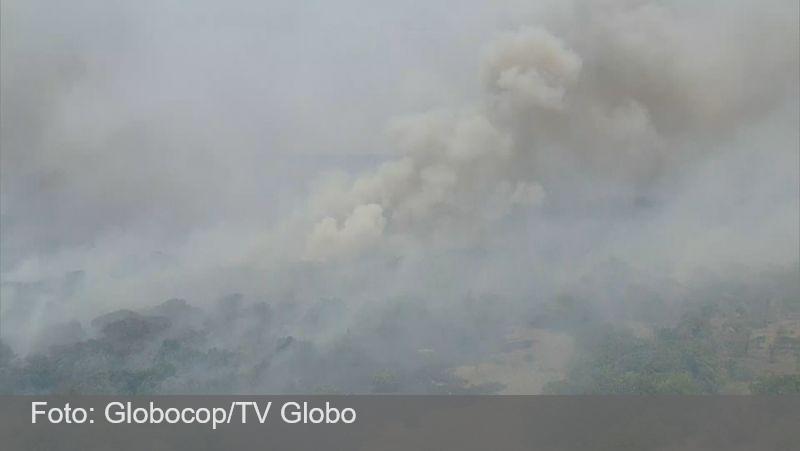 MG: Parque Nacional da Serra do Cipó pega fogo há uma semana