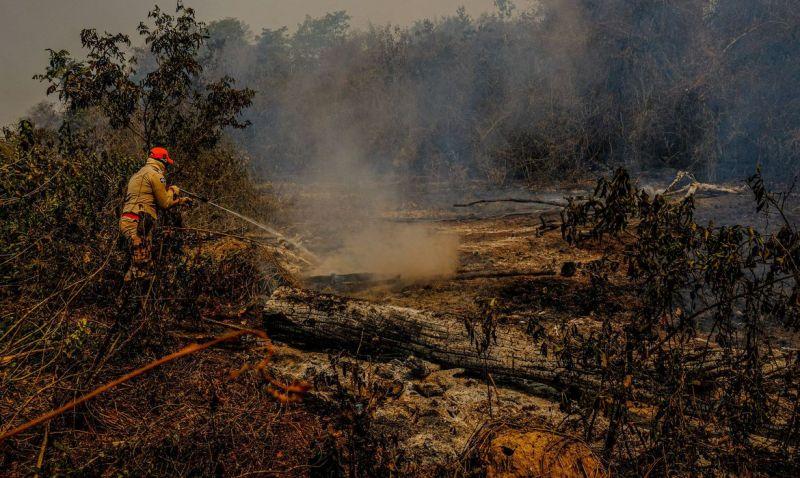 Governo libera R$ 3,8 milhões para combate a queimadas em MS
