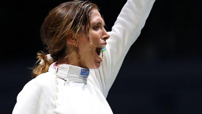 Nathalie conquista primeiro ouro para a esgrima brasileira