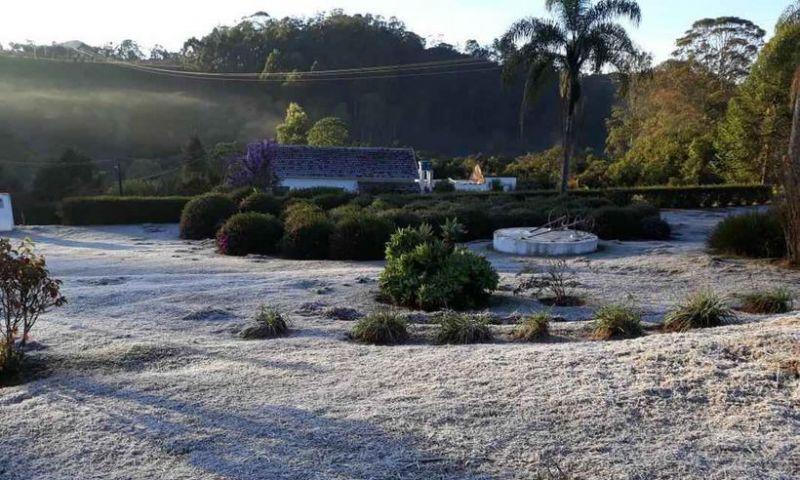 BH registra sensação térmica abaixo de zero; Monte Verde bate recorde de frio em MG