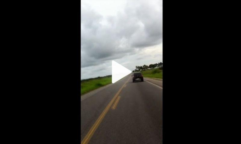 VÍDEO: Motorista é preso com cocaína após dirigir na contramão