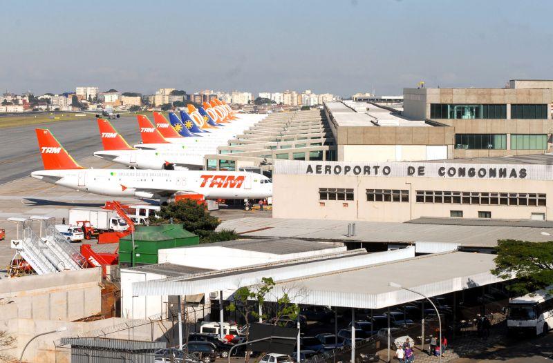 Pista principal de Congonhas volta receber aviões de grande porte
