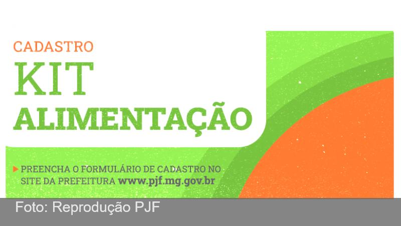 """JF: Secretaria de Educação prorroga cadastro on-line para o """"Kit Alimentação"""" até domingo, 17"""