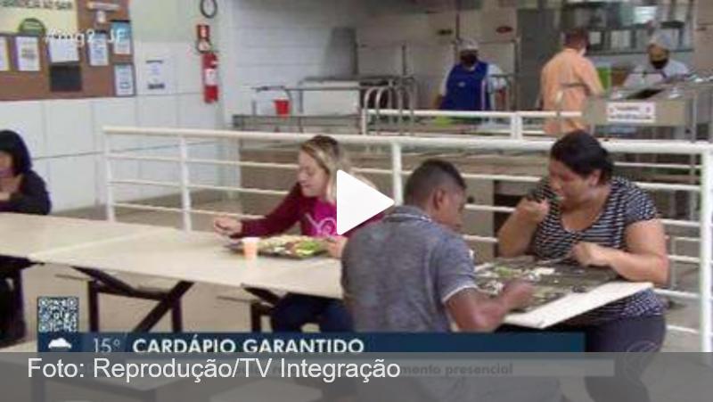 Cerca de 500 refeições são servidas na volta de restaurante popular em Juiz de Fora