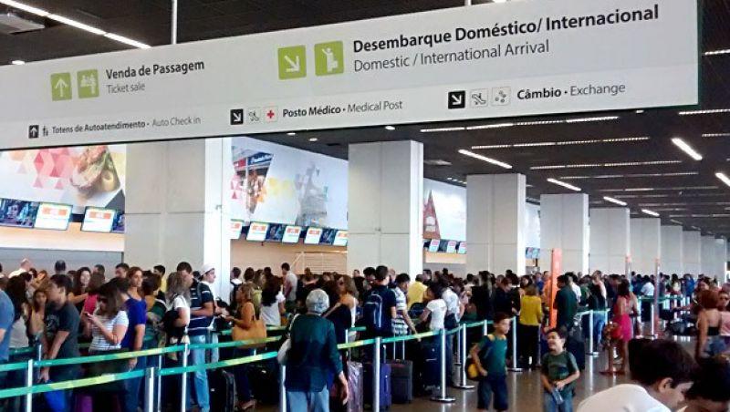 Infraero estima 1,05 milhão de passageiros nos aeroportos no feriado