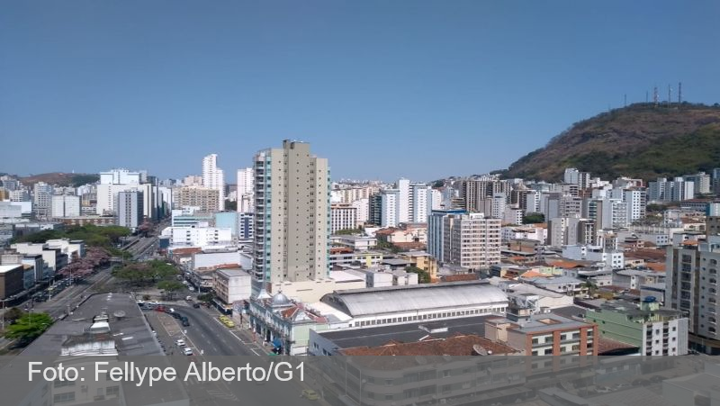 Semana será de altas temperaturas nas cidades da Zona da Mata e Campo das Vertentes