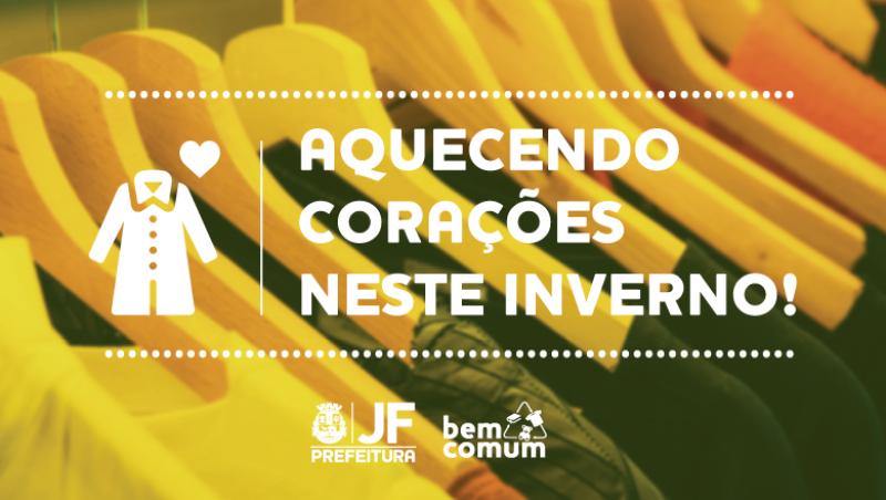 """Ação reforça campanha de doação de agasalhos no início do inverno e """"Dia da Música"""" em JF"""