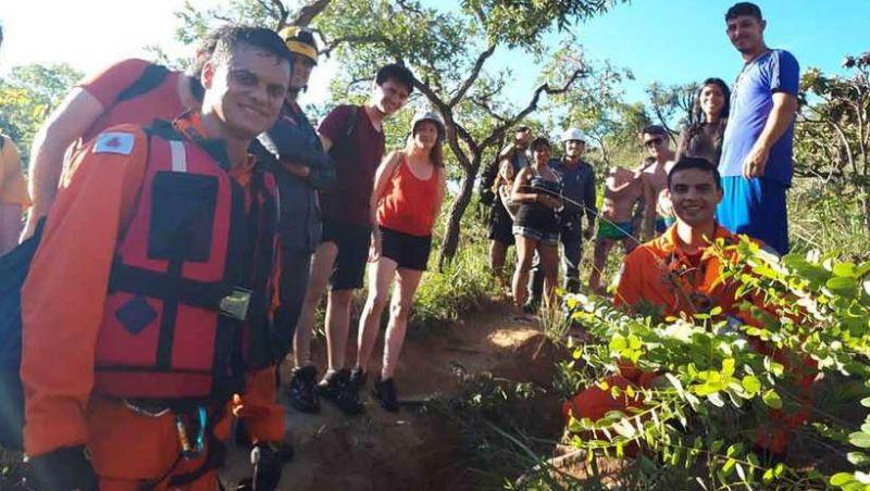 Cresce número de resgates em áreas de cachoeiras e rios de Minas