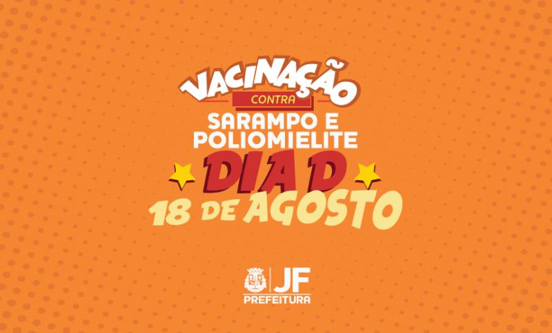 """JF terá postos extras em shoppings no """"Dia D"""" da vacinação contra sarampo e poliomielite"""