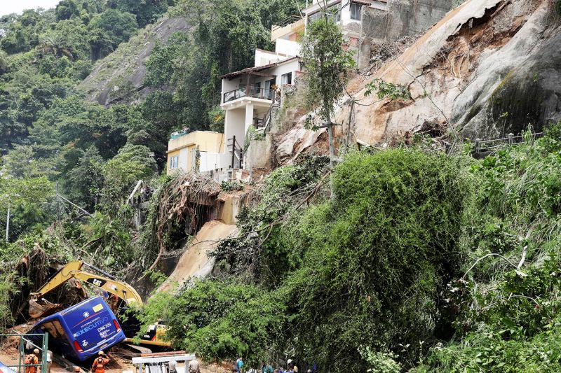 Rio sai do estágio de crise mais de dois dias depois de temporal