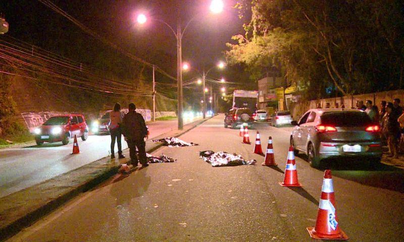 Avó e netos morrem atropelados na Zona Oeste do Rio; motorista fugiu