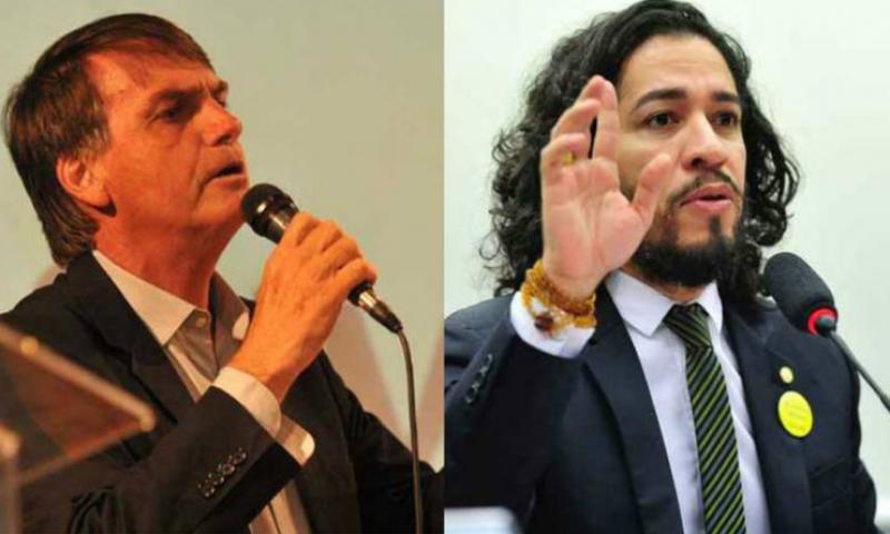 Após ser chamado de ''fascista'' e ''burro'', Bolsonaro processa Jean Wyllys
