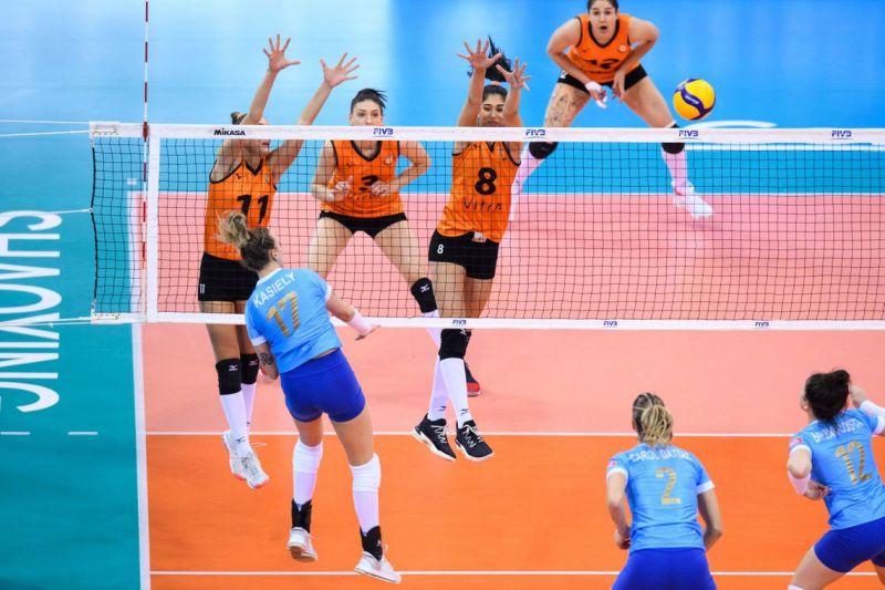 Minas está fora das semifinais do Mundial de Clubes de Vôlei, na China