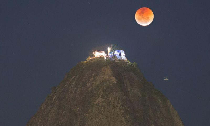 Foto de eclipse lunar feita por brasileiro ganha destaque da Nasa