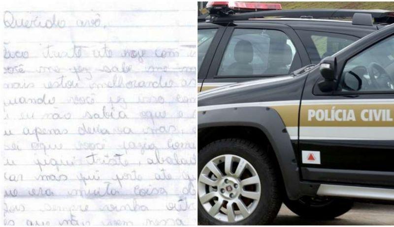 Adolescente de Janaúba revela em cartas série de estupros cometidos por pai e avô: 'Sofri sozinha, calada'