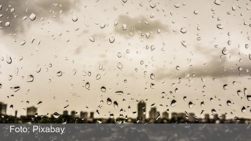 Chuva deve atingir várias regiões do país no fim de semana prolongado