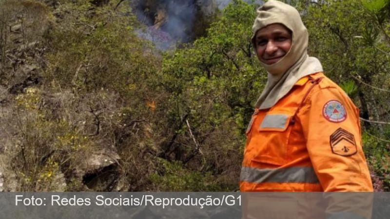 Sargento dos bombeiros que morreu em Arinos enquanto combatia incêndio é velado e enterrado em Barbacena: 'faleceu fazendo o que amava', diz filho
