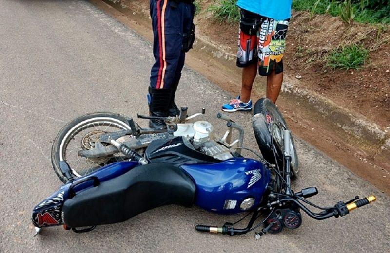 Miradouro: motociclista sofre acidente na BR-116 e é preso por ter furtado o veículo