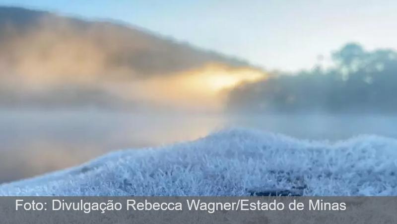 Frente fria de volta a Minas: madrugada teve geadas no Sul do Estado