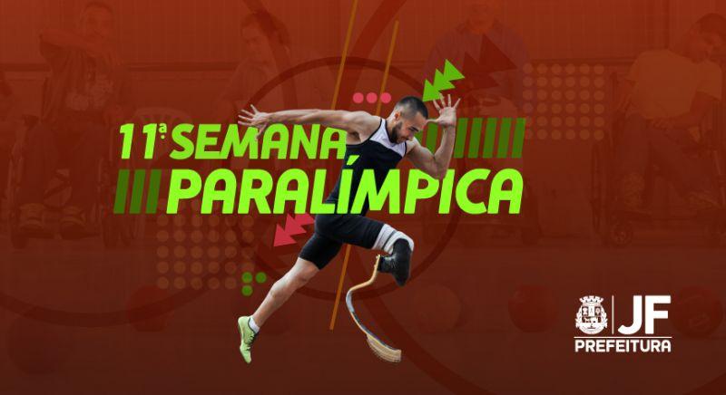 Abertura da Semana Paralímpica será no sábado em JF