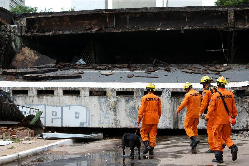 Manutenção de viaduto que caiu em Brasília é falha, diz engenheiro