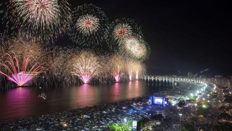Rio espera 2,8 milhões de pessoas no réveillon de Copacabana