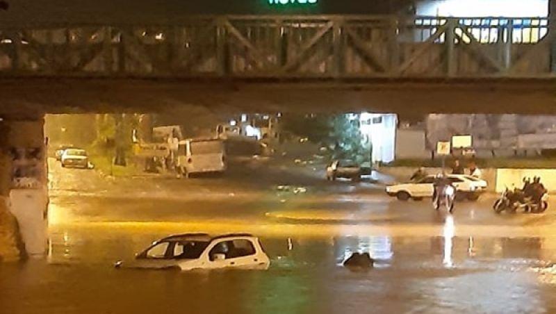 Fortes chuvas causam estragos e transtornos em Muriaé