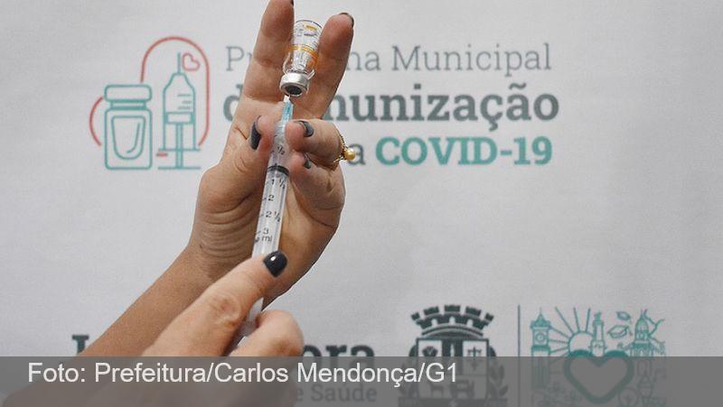 Vacina Covid-19: Juiz de Fora suspende aplicação da 1ª dose por falta de imunizantes