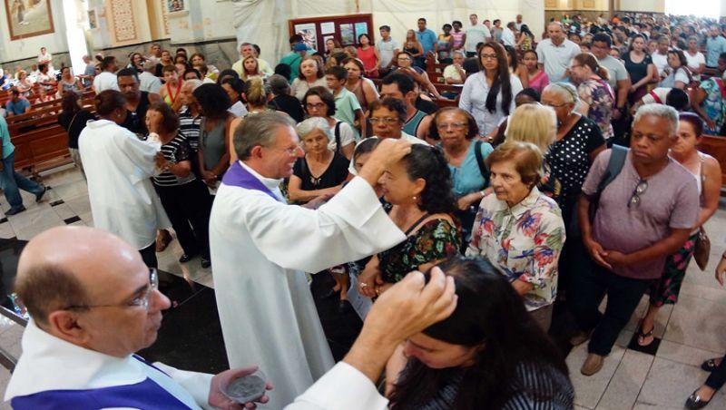 Missas celebram Quarta-Feira de Cinzas em Juiz de Fora