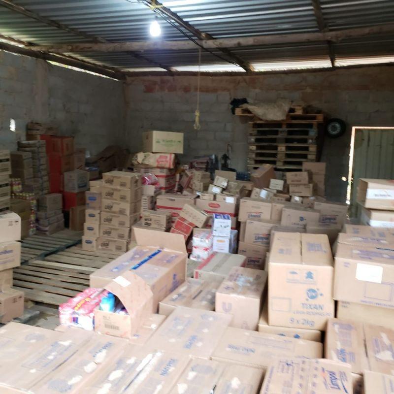 Polícia Civil recupera 4 toneladas de produtos roubados em Ervália