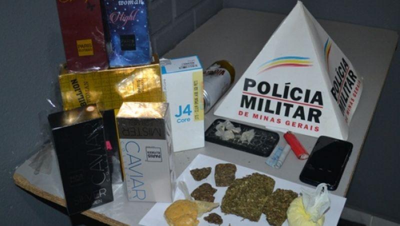 Agente Penitenciário do Rio é preso com drogas e menor dentro de motel em Muriaé