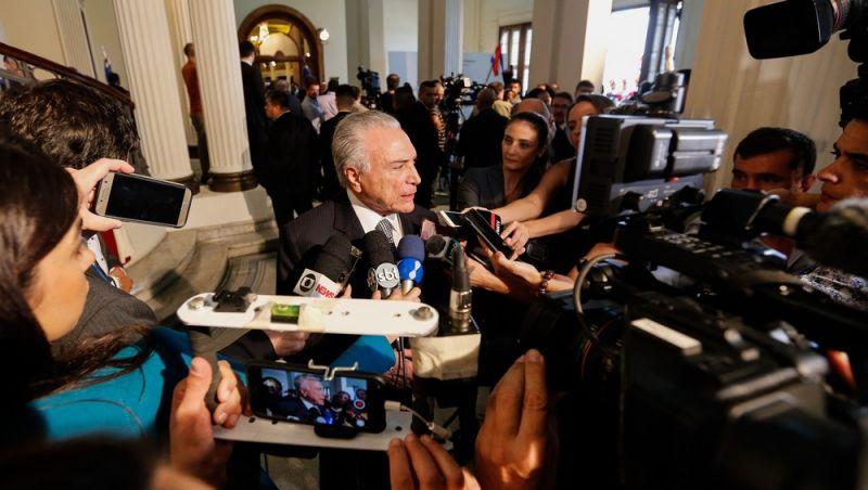 Com discurso de união, Temer se despede do Mercosul