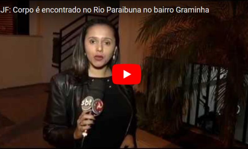 JF: Corpo é encontrado no Rio Paraibuna no bairro Graminha