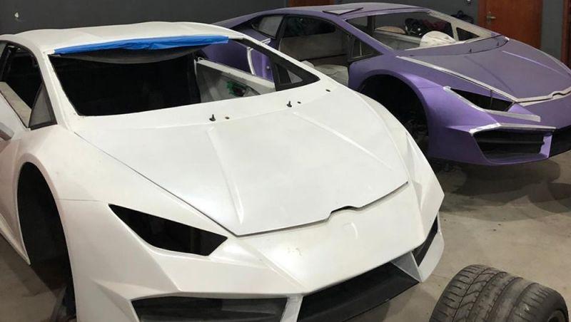 Polícia descobre fábrica em SC que falsificava Ferrari e Lamborghini