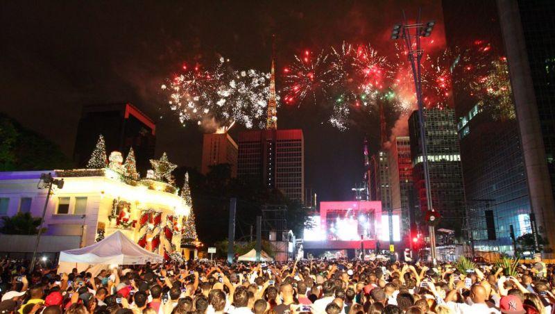 Réveillon da Avenida Paulista terá fogos de artifício sem estampido