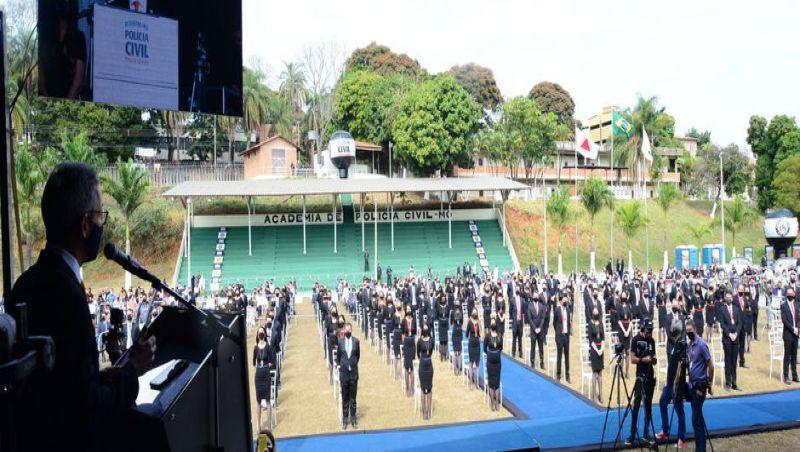 Romeu Zema anuncia concurso público para a Polícia Civil