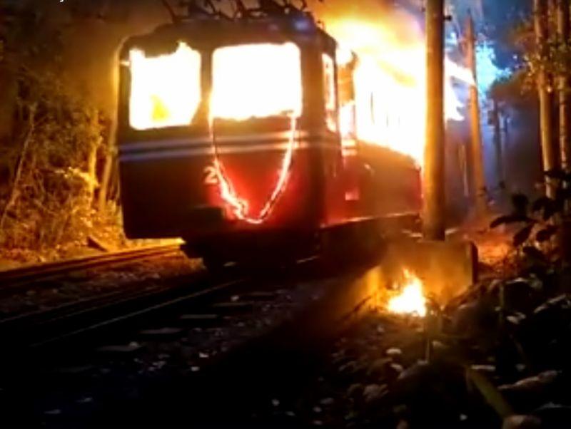 Incêndio em bondinho do Corcovado não deixa feridos