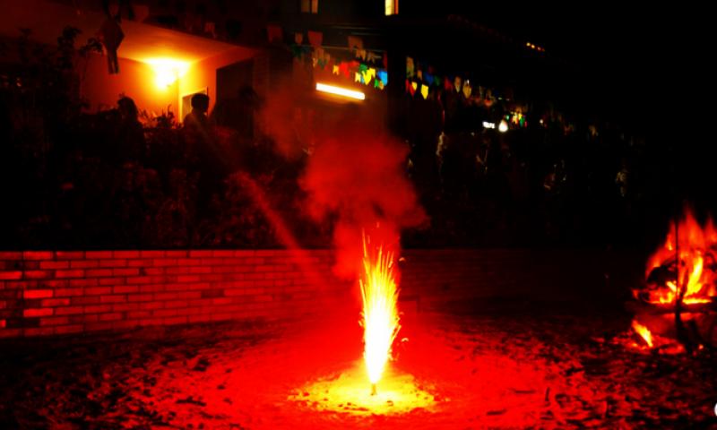 Corpo de Bombeiros alerta para os riscos de incêndios e acidentes durante festas juninas