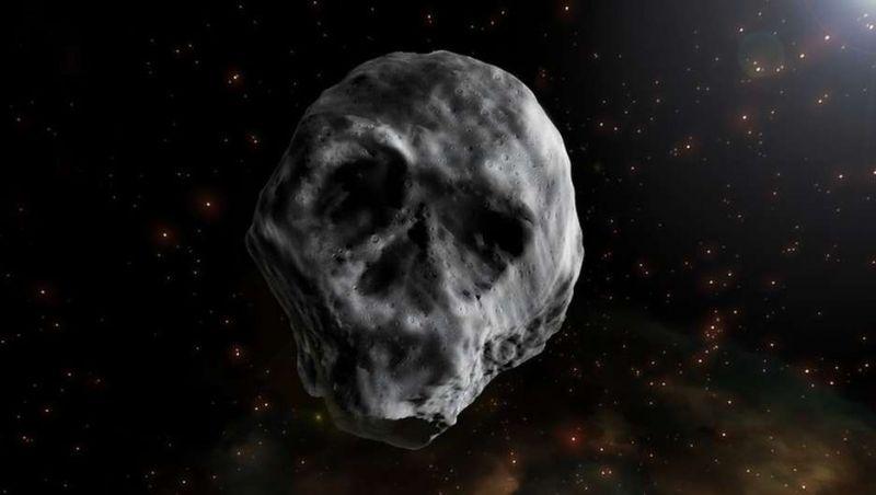 O estranho asteroide em forma de caveira que vai voltar a passar perto da Terra em 2018
