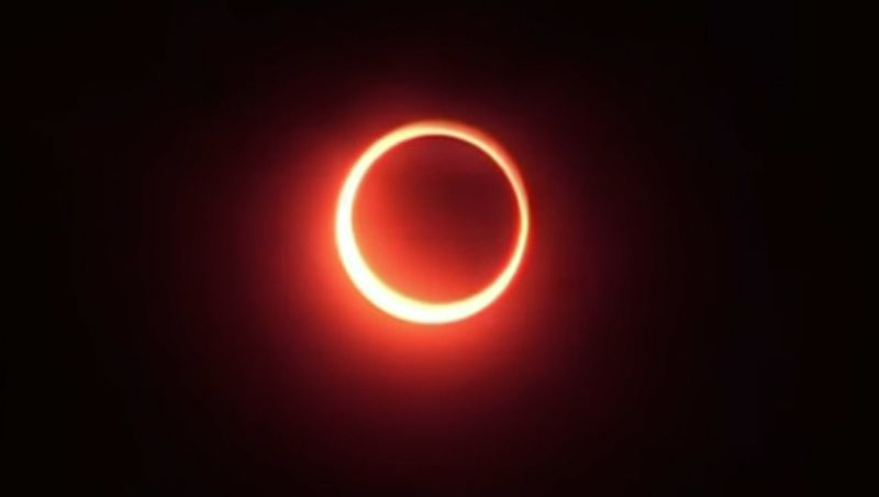 "Natal terá eclipse parcial do Sol: ""anel de fogo"": vídeo"