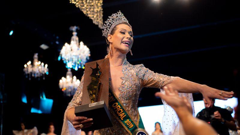 Antonia Gutierrez, representante de Pernambuco, é eleita Miss Brasil Gay 2019