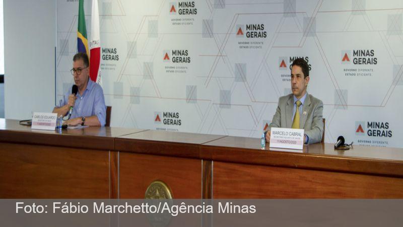 Covid-19 segue tendência de queda em Minas Gerais