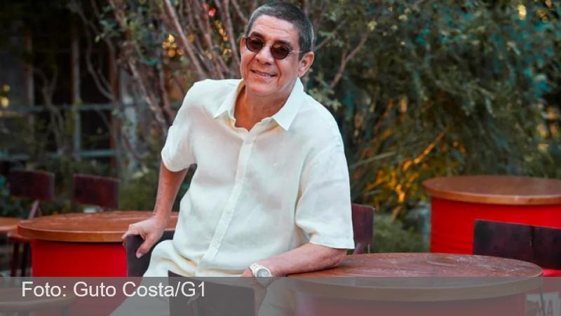 Zeca Pagodinho é internado com Covid