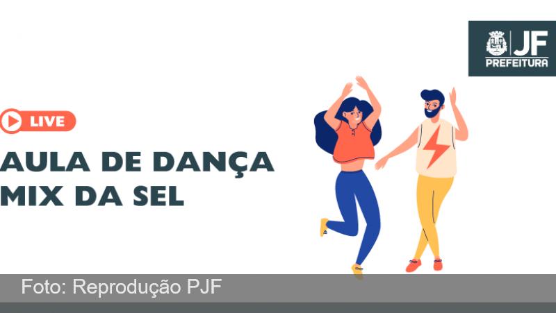 Secretaria de Esporte e Lazer promove live de aula de dança